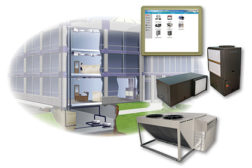 integrated system for water-source heat pump applications
