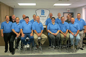 participants at Tecumseh's first Certified Refrigeration Specialist class