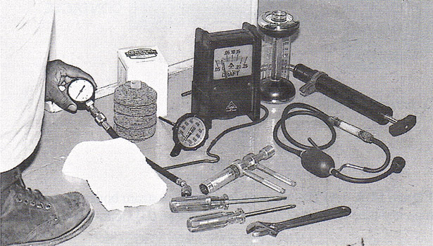 tune-up kit for an oil burner