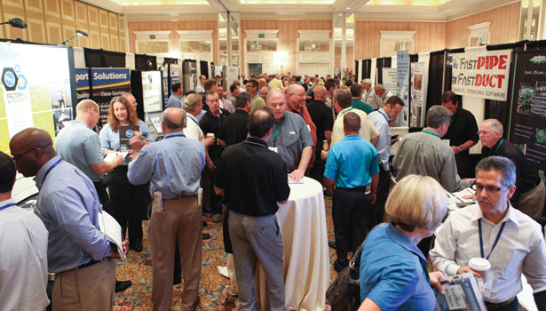 exhibit hall activity