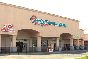 a warehouse-type food store in California