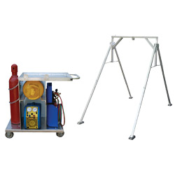 HVAC Service Cart, Gantry Frame