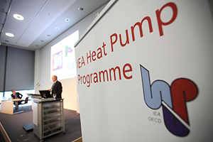 heat pumps in refrigeration applications were focus of discussions at Chillventa