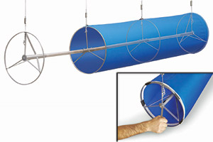 Fabric Duct Tensioning