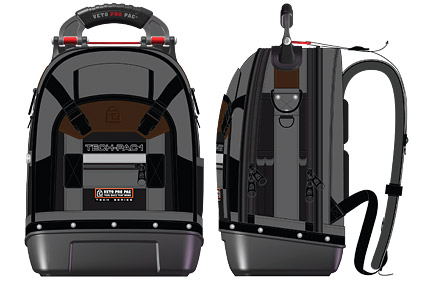 28 2017 New Backpack Tool Bag Provides Ample Room For Tools