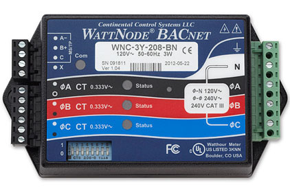 -Continental-Control-WattNode-BacNET_Straight_On