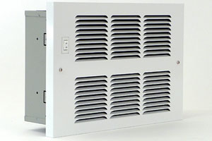 In-Wall, Fan-Driven Hydronic Heater