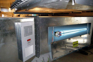 Commercial In-Duct UV Air Treatment System