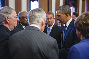 Sequestration Spending Cuts Obama Fiscal Cliff Legislation