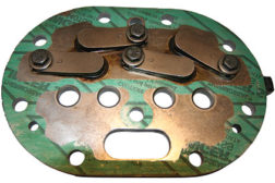 Compressor discharge valve