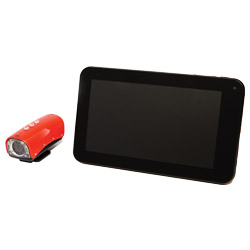 duct inspection camera and tablet PC