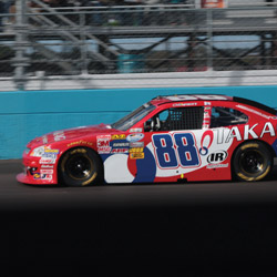 No. 88 JR Motorsports car on the Nationwide Tour