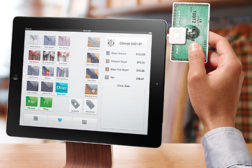 The Square allows users to swipe credit cards using their iOS or Android device. The company charges a 2.75 percent fee per transaction or a flat rate of $275 per month.
