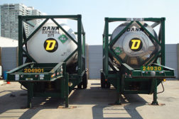 Refrigerants are in transit for destruction. (Photo courtesy of Refrigerant Management Canada.)