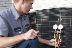 performing a HVAC tune-up