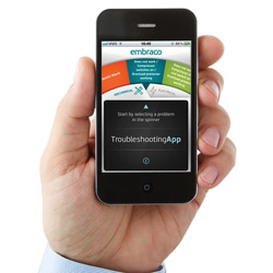 Embraco Mobile App for Troubleshooting