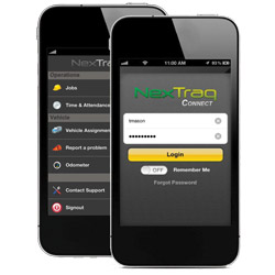 NexTraq Connect Mobile App