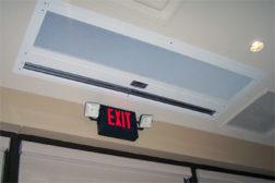 High-Ceiling Air Curtain
