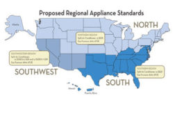 HVAC Regional Standards Map