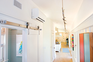 Customer awareness of ductless systems is helping contribute to growth patterns seen in residential and commercial ductless applications. (Photo by Ned Bonzi Photography.)