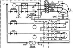 HVAC equipment wiring diagram