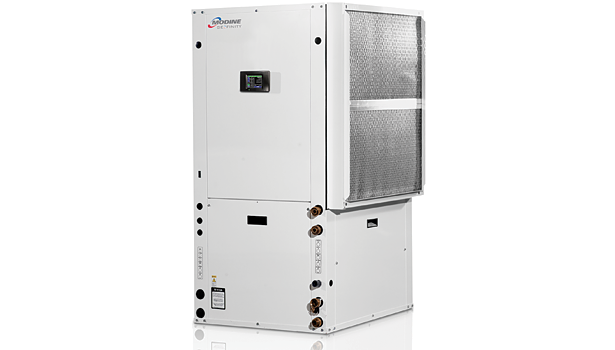 Modine EH water-to-water, EF/EC water-to-air/water, EA air handler, ES split condensing, EW water-source forced air unit