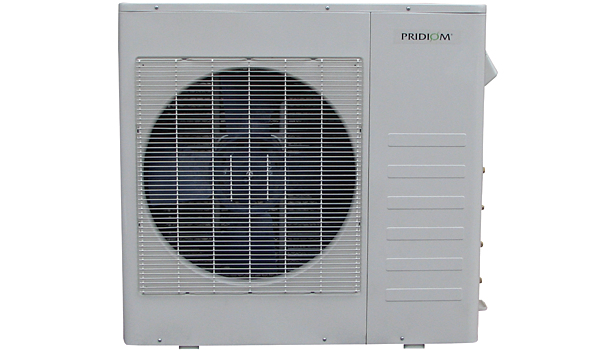 Pridiom P0M273HX and P0M365HX heat pump