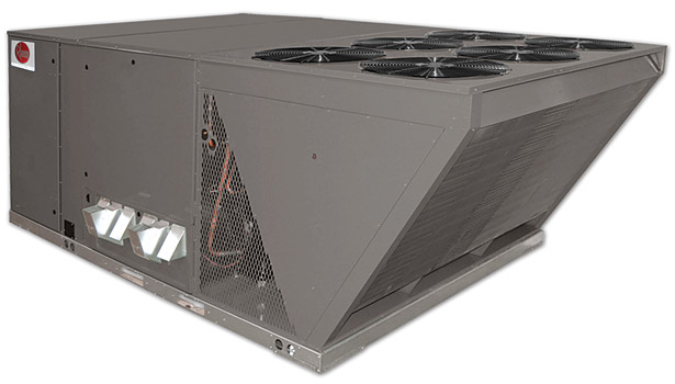 Rheem Prestige Series high-efficiency commercial package units, Models RKRL, RLRL