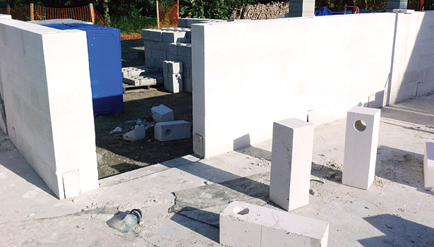 Like concrete block, AAC is mold-resistant, fire-resistant, and not penetrable by termites or pests.