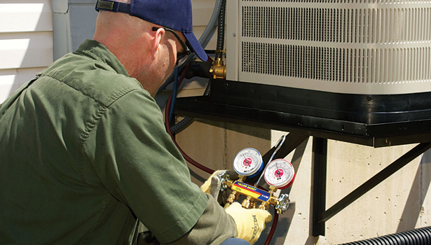 Nordyne recommends that heat pumps, such as the 22 SEER iQ Drive system shown here, be serviced twice a year.