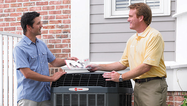 Regular maintenance is even more crucial for newer heat pumps, whose efficiency decreases greatly if not properly maintained. (Courtesy of Trane)