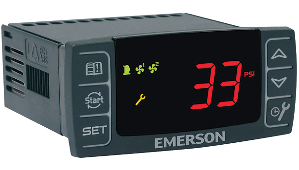 Emerson's Electronic Unit Controller is designed to better maintain lower-pressure control on condensing units