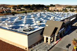 Many Wal-Mart retail stores across the country have more than just HVAC equipment installed on their rooftops. Through the company's various green energy projects, Wal-Mart generates enough energy to power 78,000 homes annually.