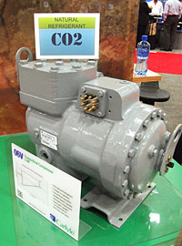 CO2 refrigeration equipment