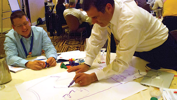 At Nexstar Network's Owner's Spotlight meeting, attendees were helped to a variety of leadership training materials