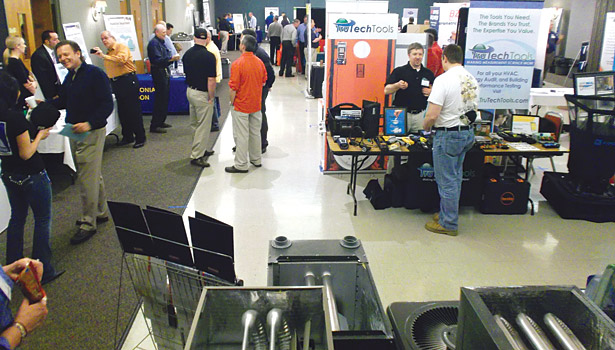 Contractors at the Southeast Michigan ACCA chapter had a chance to interact with other contractors and manufacturers at the chapter's annual trade show held in April.