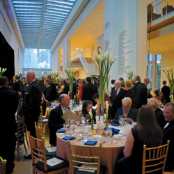 MCA Chicago celebrated its 125th anniversary with a black-tie event at the Art Institute of Chicago.