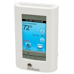 SunTouch, a Watts Water: Electric Floor-Heating Thermostats