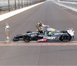 Bryant Heating & Cooling Systems earned its first-ever victory at the Indianapolis 500 since beginning its participation in auto racing in 1958.