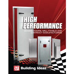 A.J. Mfg. Inc.: Access Door, Wall Panel Brochure
