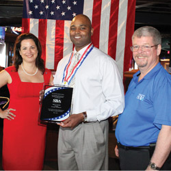 Contractor Earns Small Business Award