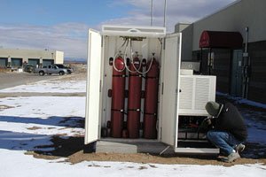 hydrogen fuel cell for backup power
