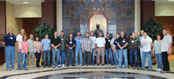 Lochinvar recently hosted 16 of its top VIP Contractors and their guests for a three-day visit to Lochinvar's headquarters in Nashville, Tenn., for the 2013 CMA Fest.