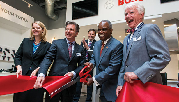 Bosch Opens New Sustainable Facility