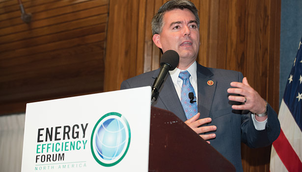 Rep. Cory Gardner, R-Colo., cofounded the bipartisan Energy Savings Performance Caucus with Rep. Peter Welch, D-Vt.