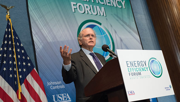 "Daniel Yergin, founder of IHS Cambridge Energy Research Associates and vice chairman of IHS, said, ""The growth of energy efficiency has been a contributor to economic growth and not a hindrance to economic growth."""