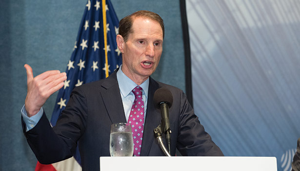 The Shaheen-Portman bill should just be about energy and not a way to push through unrelated amendments, said Sen. Ron Wyden, D-Ore.