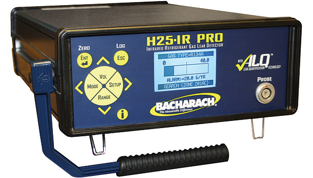 Bronze Winner: H25-IR PRO is an industrial-grade refrigerant leak detector and gas analyzer from Bacharach Inc.