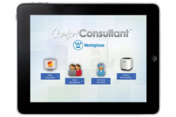 Nordyne ComfortConsultant mobile app
