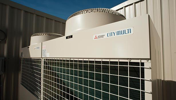 By operating efficiently at partial-load conditions, the City Multi systems were able to optimize energy savings and provide zoned comfort, while also keeping operating costs at a minimum.